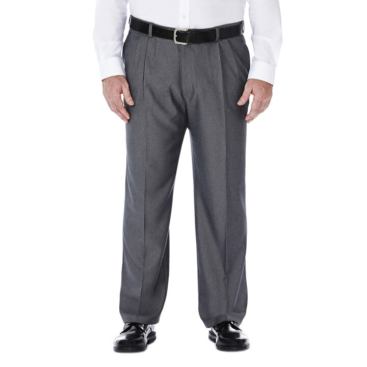 Big & Tall Cool 18® Heather Solid Pant, Graphite, hi-res