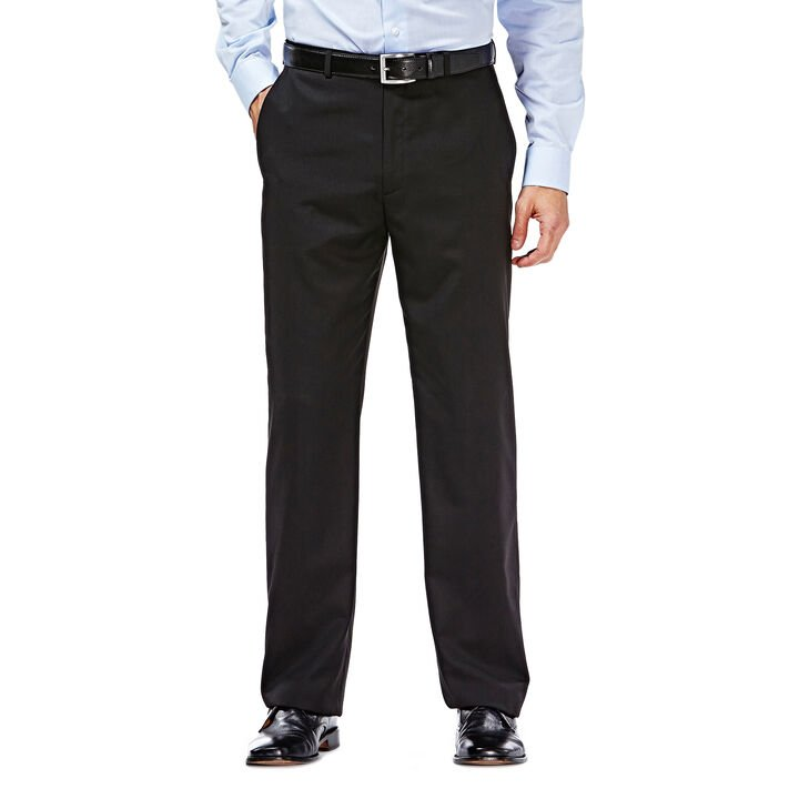 Suit Separates Pant - Flat Front, Black, hi-res