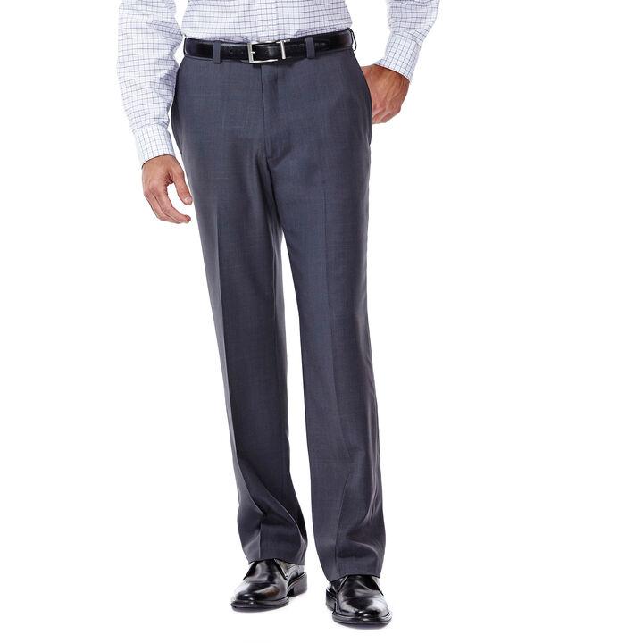E-CLO™ Stria Dress Pant, Medium Grey, hi-res