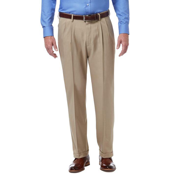 Premium Comfort Dress Pant, Khaki, hi-res