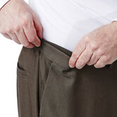 Big & Tall Cool 18® Heather Solid Pant, Heather Brown 4
