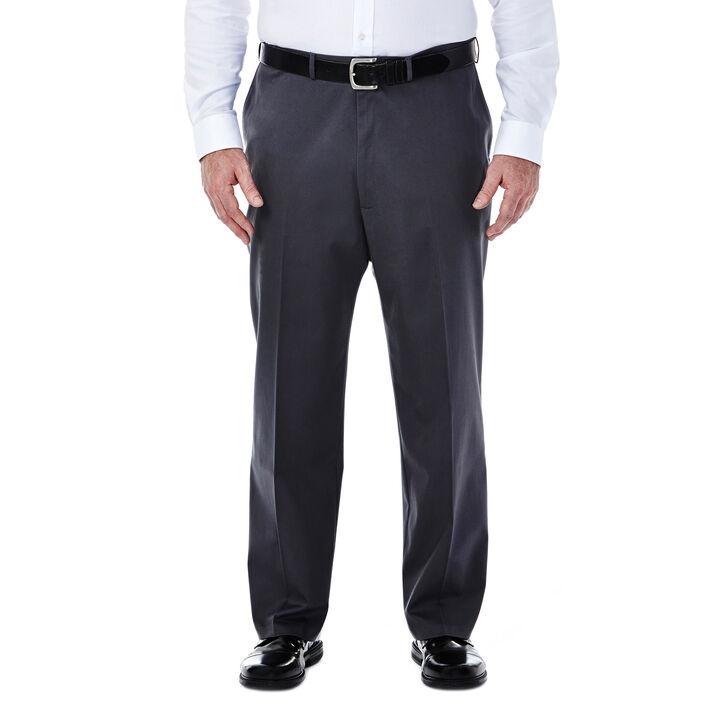 Big & Tall Premium No Iron Khaki, Dark Grey, hi-res