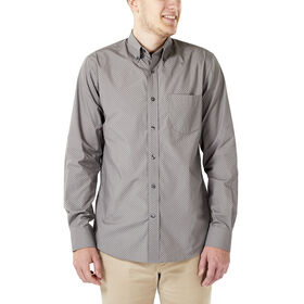 Dot Button Down Shirt, Taupe