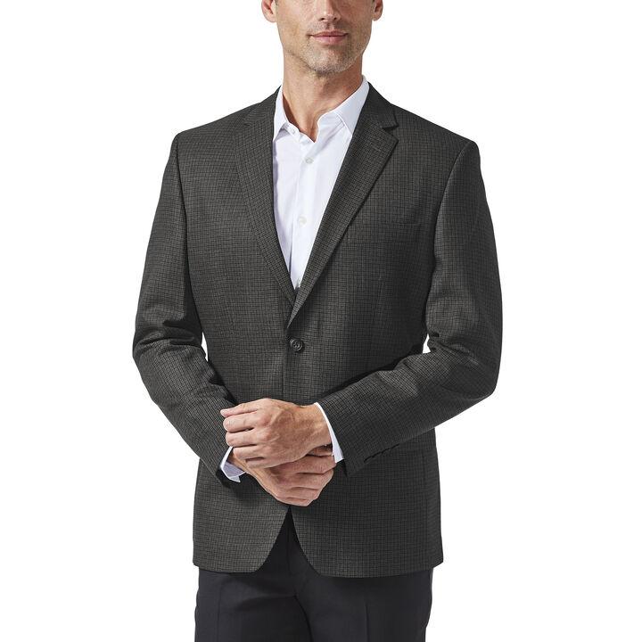 Multi Check Sport Coat, Black / Charcoal, hi-res