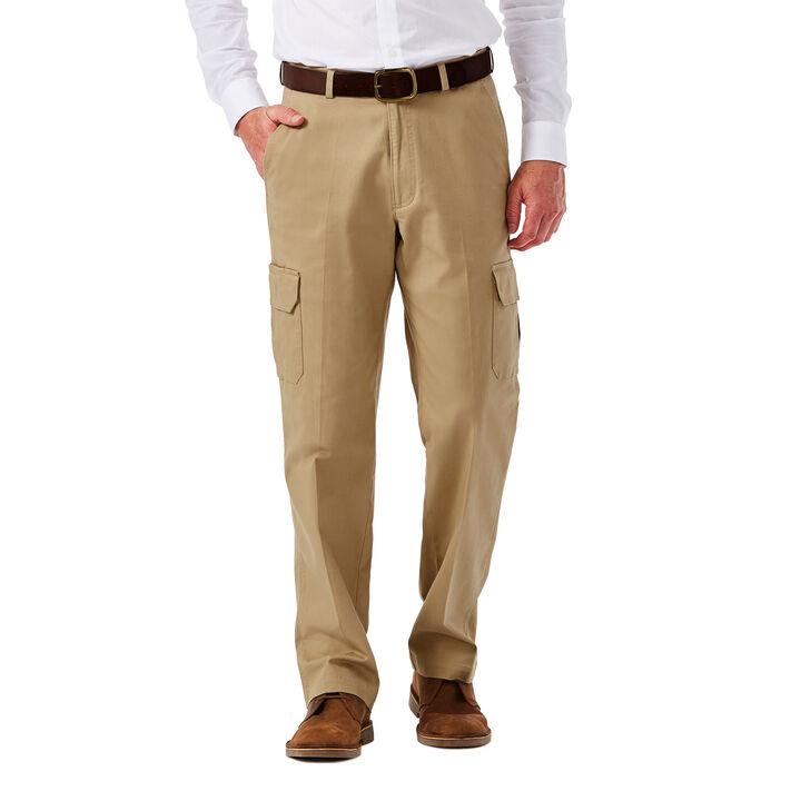 Big & Tall Stretch Comfort Cargo Pant, Khaki, hi-res