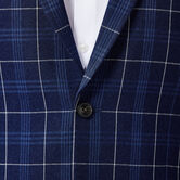 Plaid Sport Coat, Midnight 4