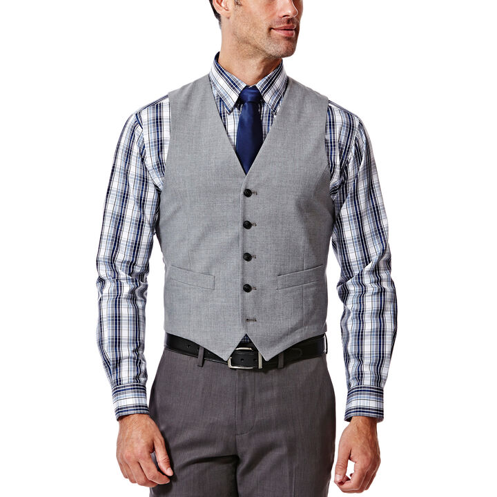 Heather Suit Vest, , hi-res