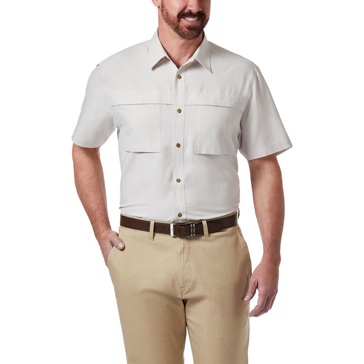 Double Pocket Guide Shirt, Stone