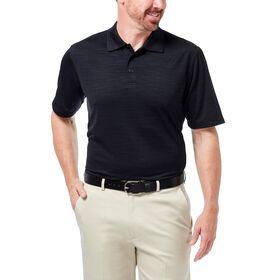 Cool 18® Space Dye Polo, Black