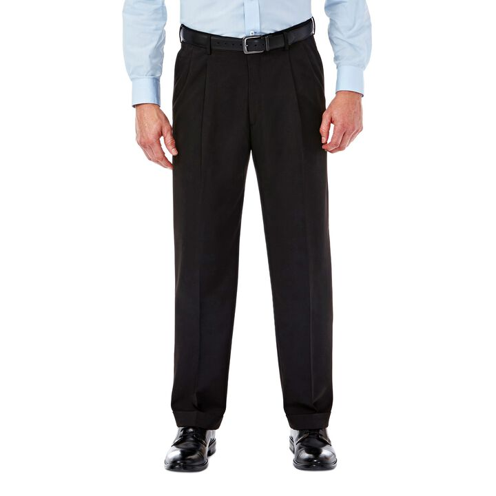 Mynx Gabardine Dress Pant, Black / Charcoal, hi-res