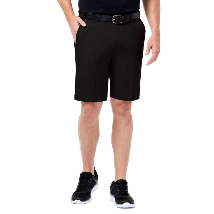 Premium No Iron Khaki Short, Black, hi-res