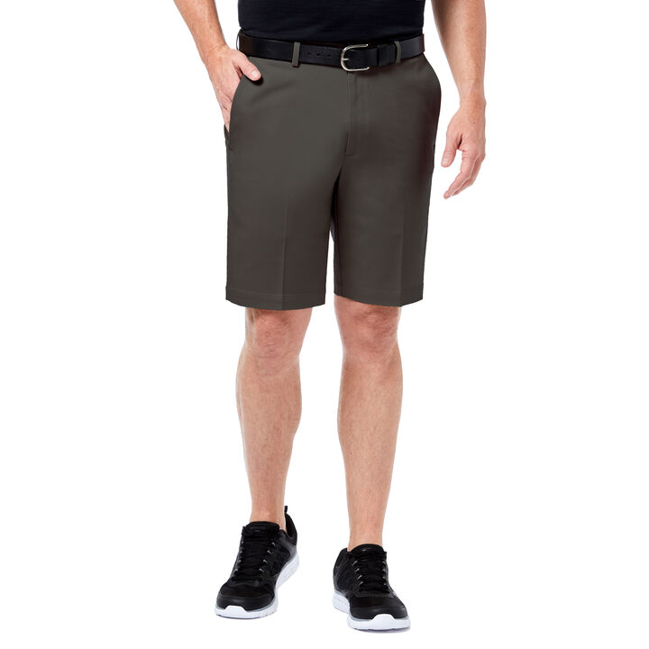 Premium No Iron Khaki Short, Dark Grey