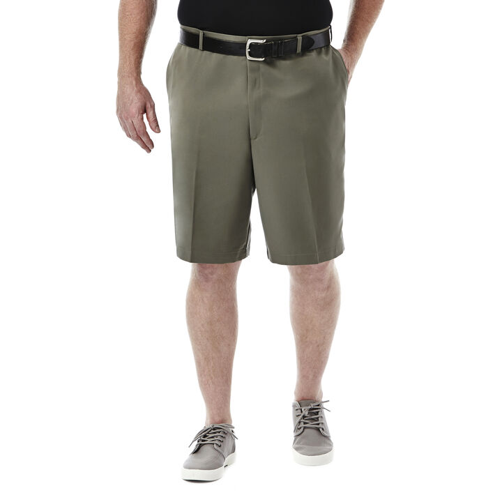 BIG & TALL Cool 18® Shorts, Taupe, hi-res