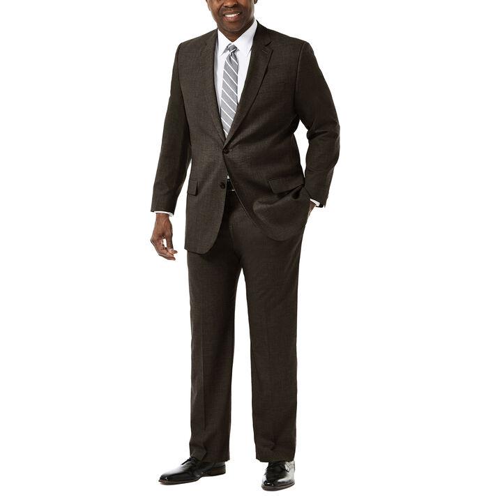 Big & Tall J.M. Haggar Premium Stretch Suit Jacket, Chocolate, hi-res