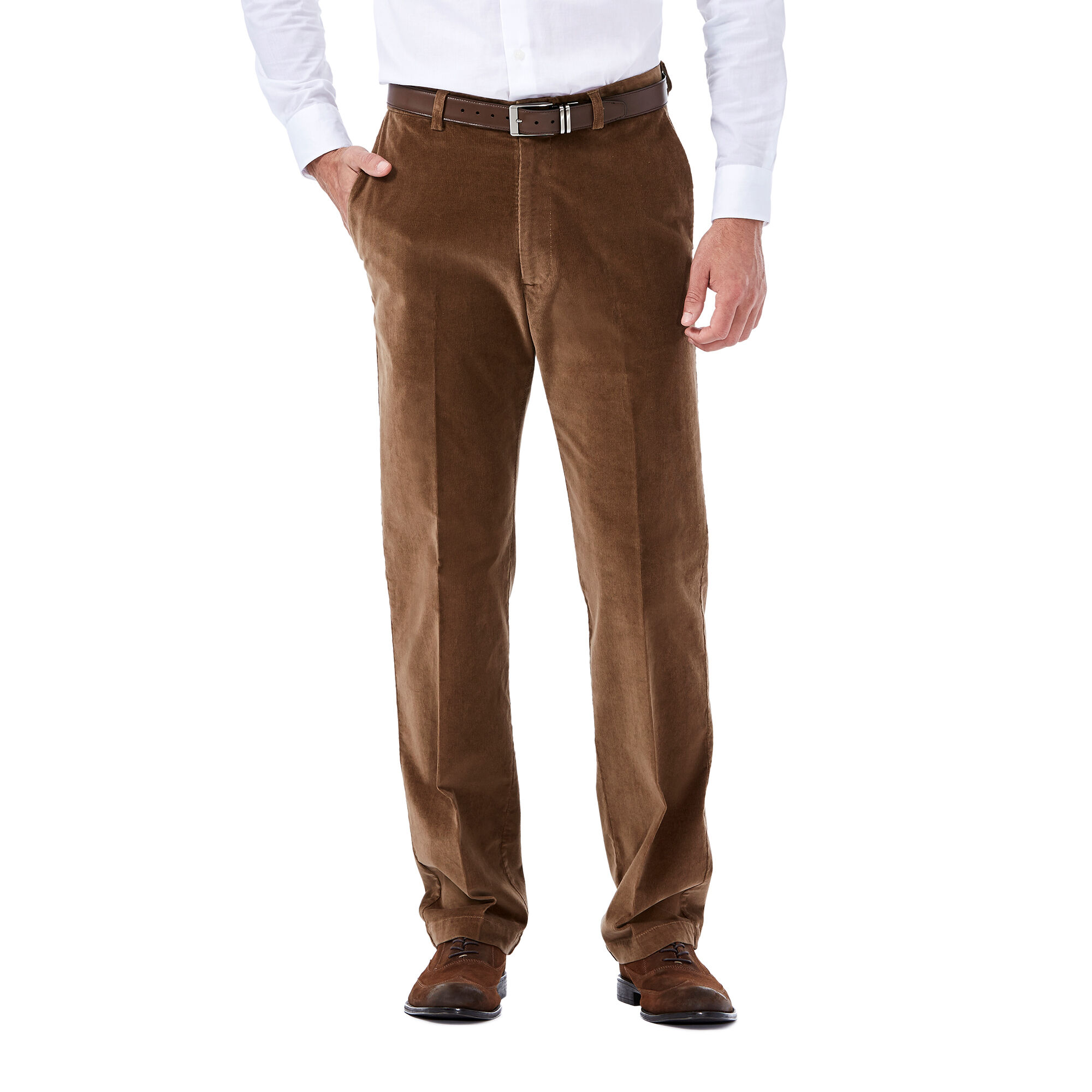 Three Pairs of Haggar Mens Regular Pants