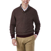 Shawl Collar Intarsia Sweater, , hi-res