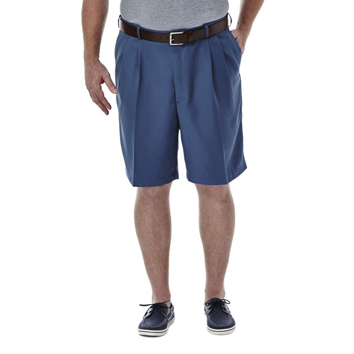 BIG & TALL Cool 18® Shorts, Lt Stonewash, hi-res