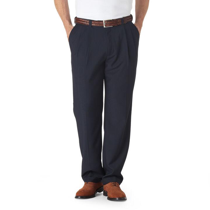 E-CLO™ Stria Dress Pant, Navy, hi-res
