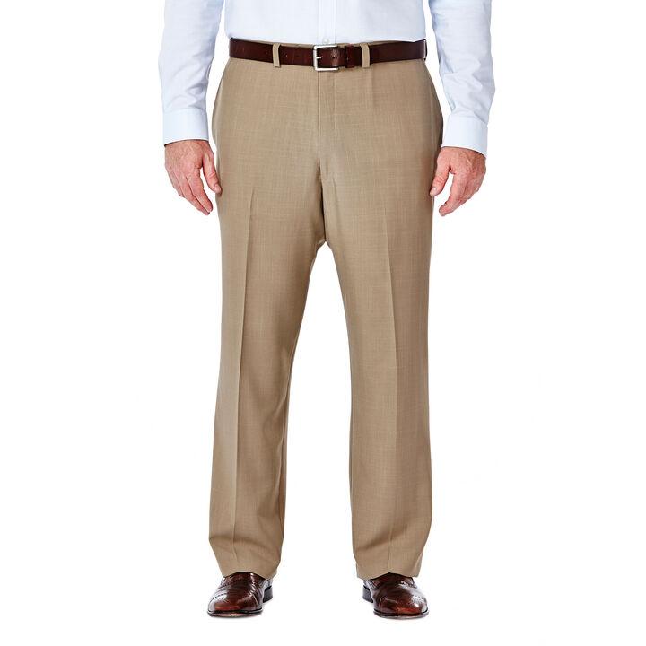 Big & Tall E-CLO™ Stria Dress Pant, Taupe