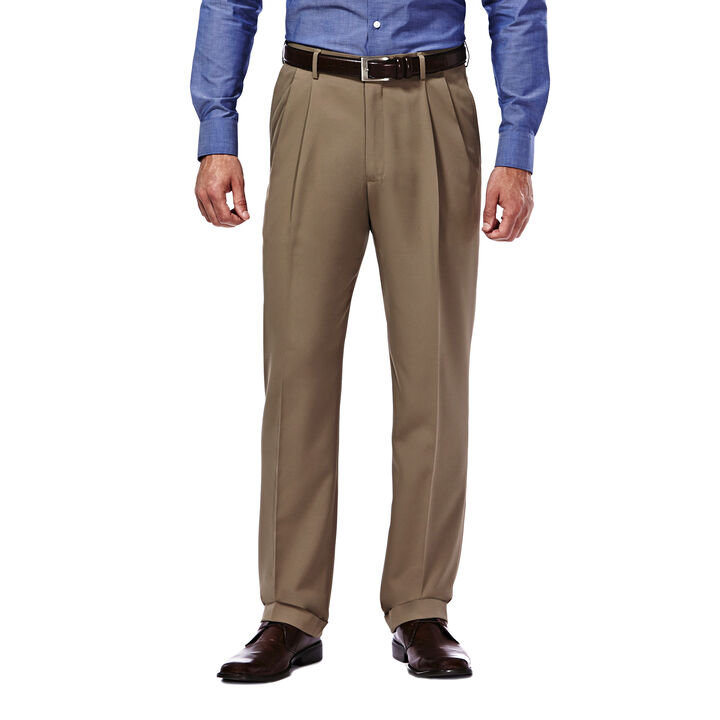 Mynx Gabardine Dress Pant, British Khaki, hi-res