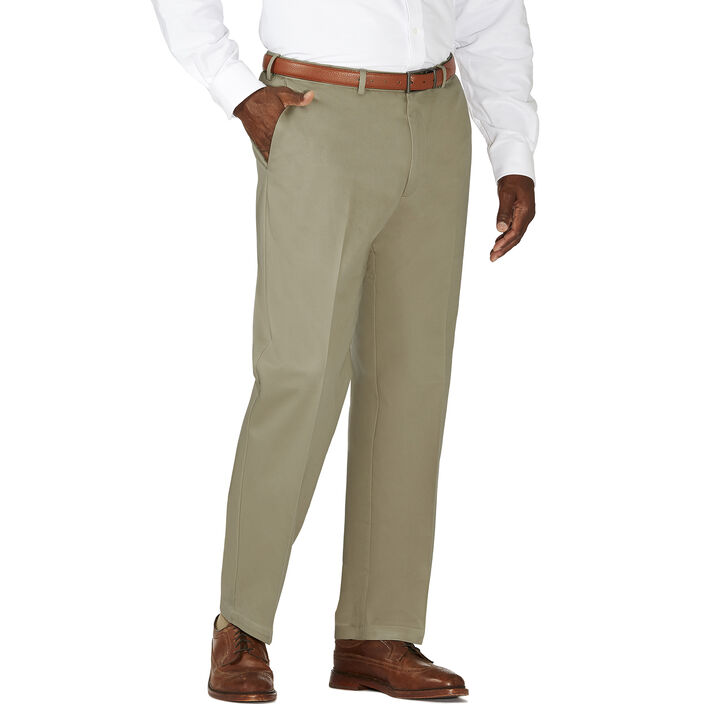 Big & Tall Work to Weekend® Khaki, Olive, hi-res