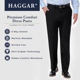 Premium Comfort Dress Pant, Black / Charcoal, hi-res 6