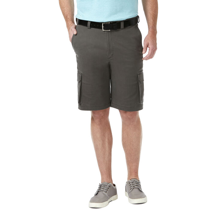 Stretch Cargo Short, Medium Grey, hi-res