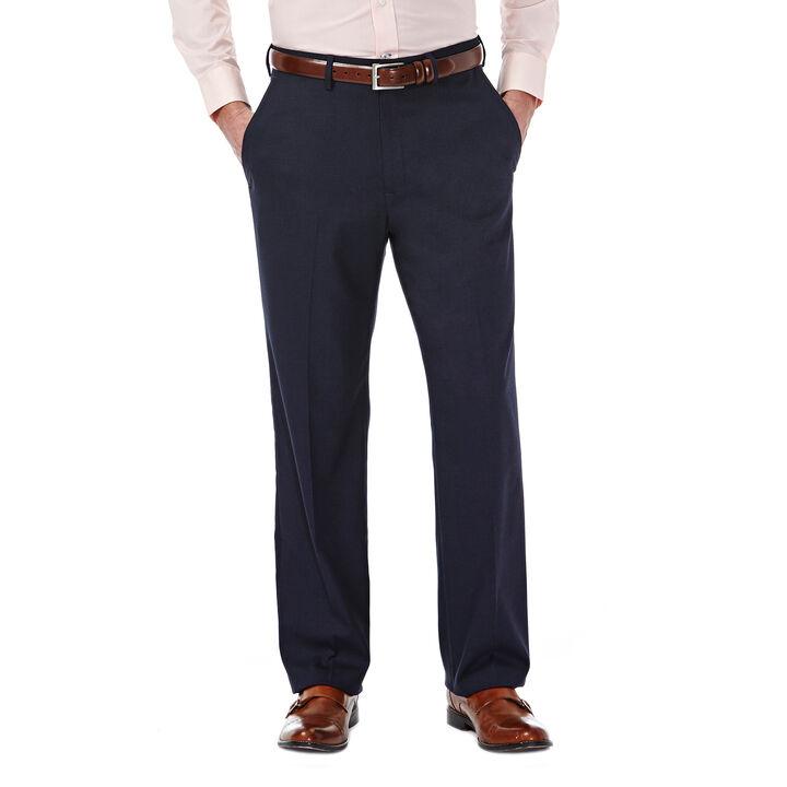 J.M. Haggar Premium Stretch Dress Slack, Dark Navy, hi-res