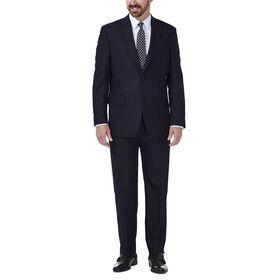 JM Haggar Deco Grid Suit Jacket, Navy
