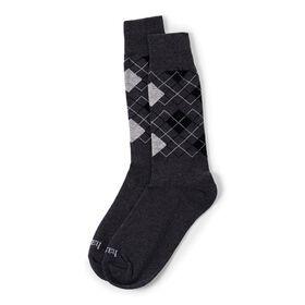 Argyle Sock, Black
