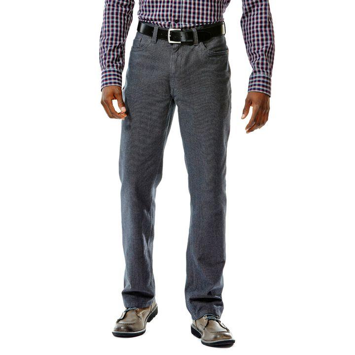 Haggar Heritage Birdseye Cotton Pant, , hi-res