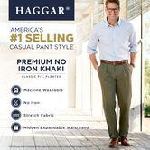 Premium No Iron Khaki, Chocolate, hi-res 5