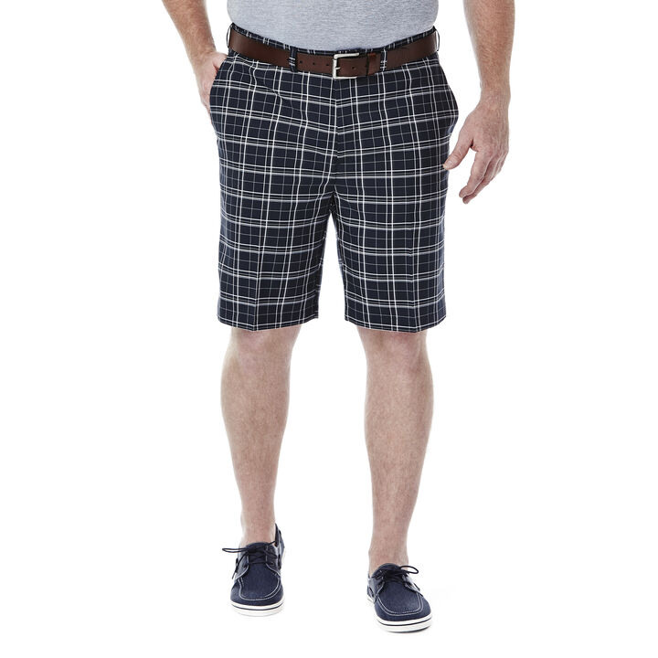 Big & Tall Cool 18®  Woven Plaid Short, , hi-res