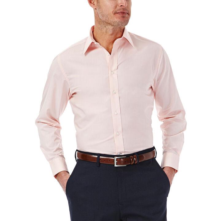 Solid Poplin Dress Shirt, Light Pink