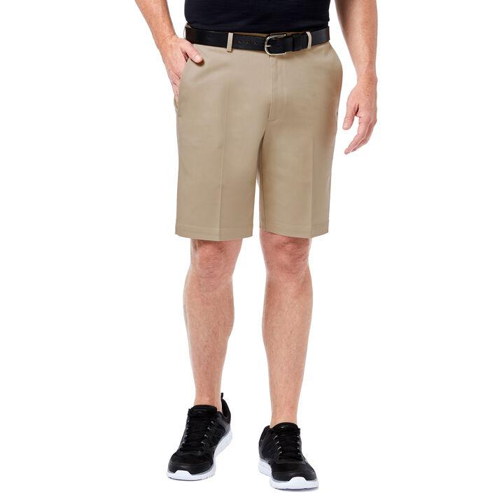 Premium No Iron Khaki Short, Khaki, hi-res