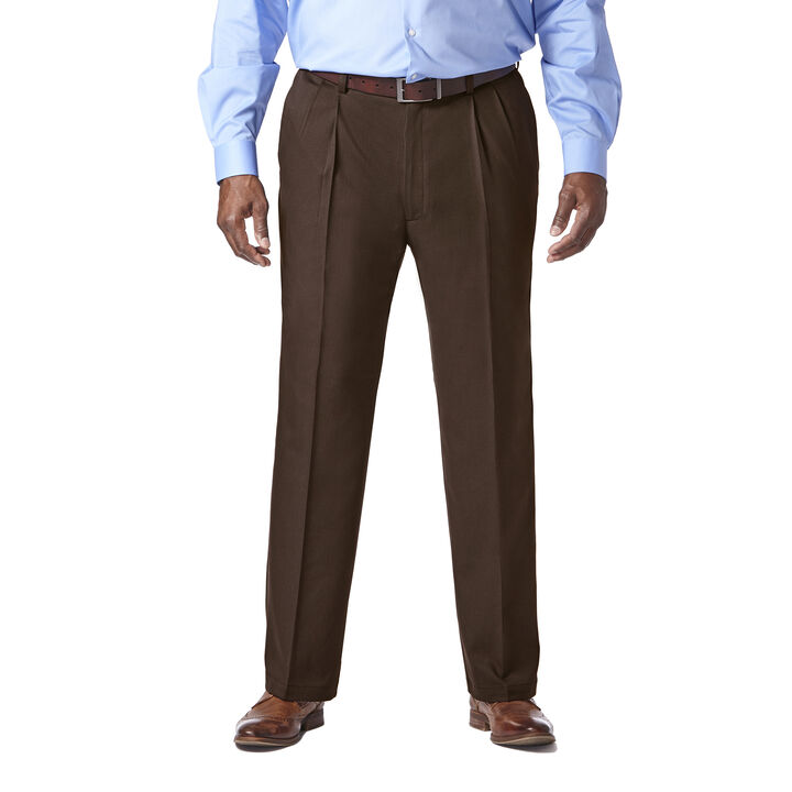 Big & Tall Cool 18® Pro Heather Pant, Brown Heather, hi-res