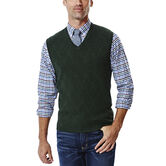 Diamond Textured Sweater Vest, , hi-res