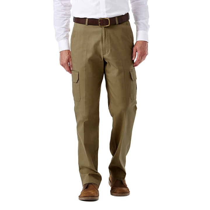 Big & Tall Stretch Comfort Cargo Pant, Camel, hi-res