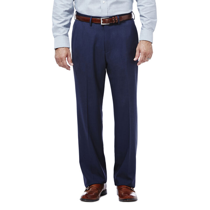 Expandomatic Stretch Heather Dress Pant, Navy, hi-res