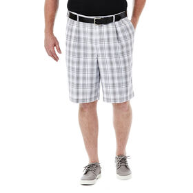 Big & Tall Cool 18® Check Short, Pewter