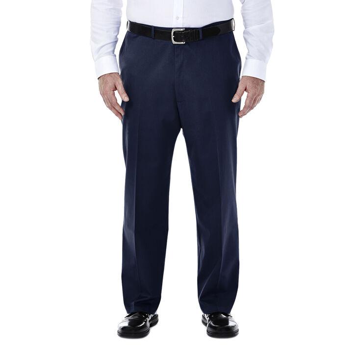 Big & Tall Premium No Iron Khaki, Dark Navy, hi-res
