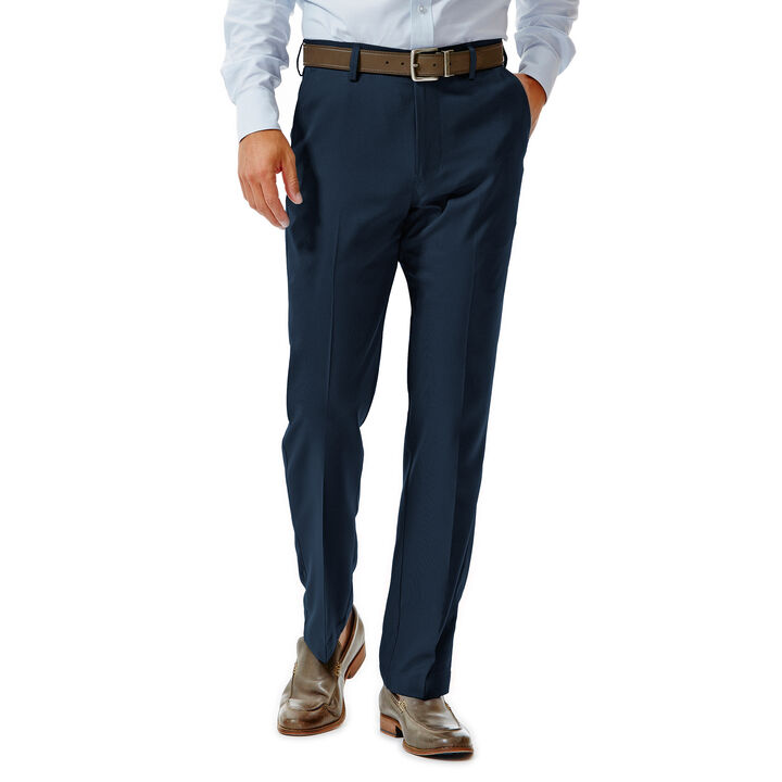 Performance Microfiber Slacks, Tic Weave, , hi-res
