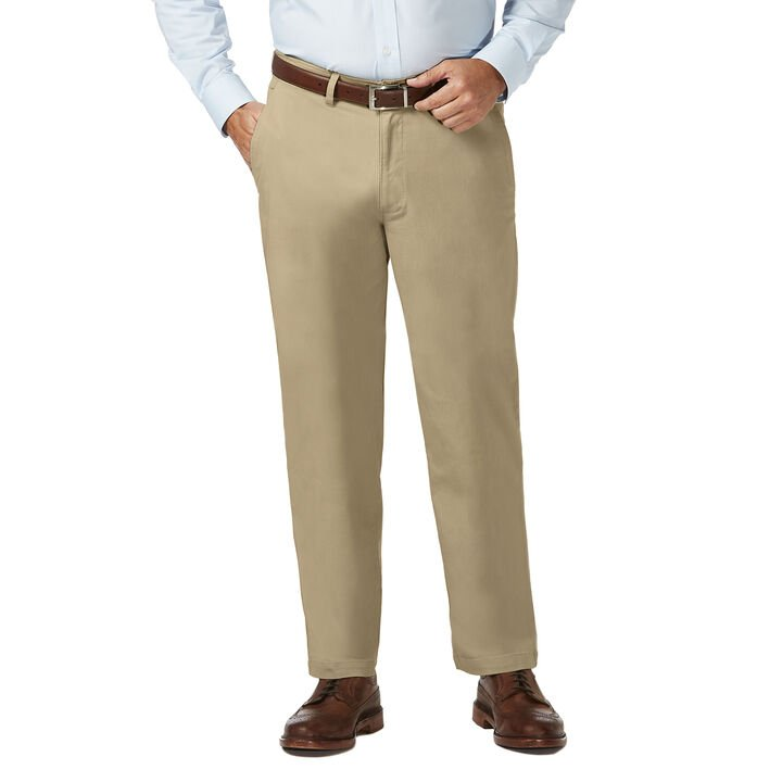 Big & Tall Coastal Comfort Chino, Khaki, hi-res