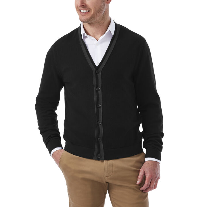 Lightweight Button Down Cardigan, , hi-res