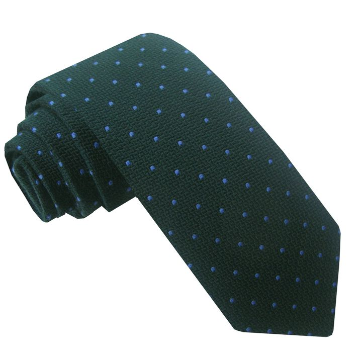 Wool Blend Dot Tie, , hi-res