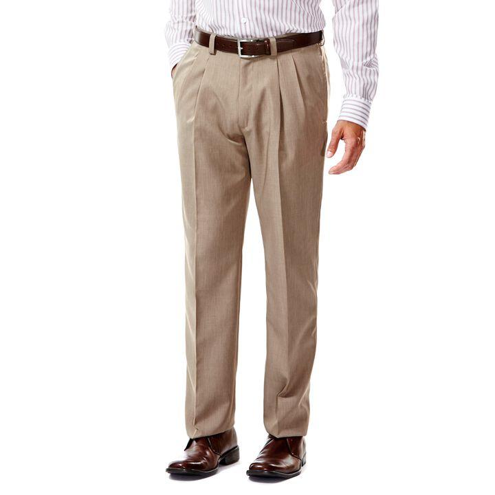 E-CLO™ Stria Dress Pant, Medium Taupe, hi-res