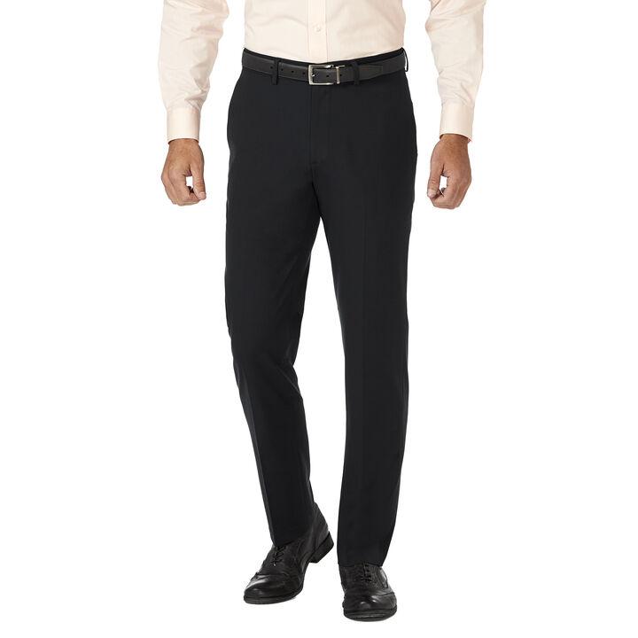 J.M. Haggar 4 Way Stretch Dress Pant, Black, hi-res