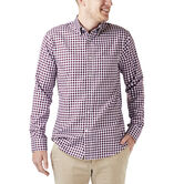 Gingham Button Down Shirt, Winetasting 1