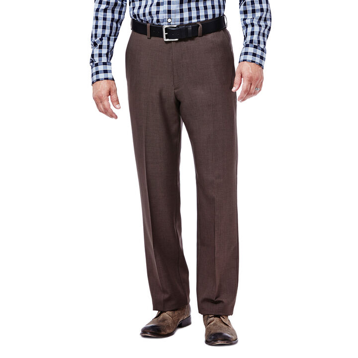 Cool 18® Stria Pant, Heather Brown, hi-res