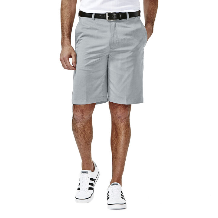 Cool 18® Oxford Short, Charcoal, hi-res